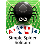 Simple Spider Solitaire game for Window 10 PCs
