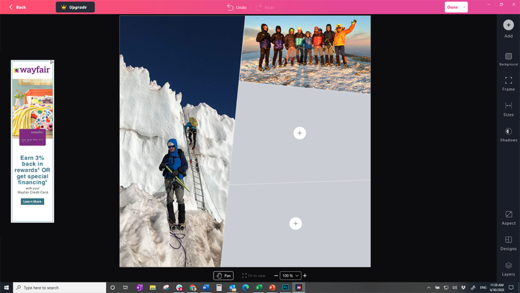 Phototastic Collage program for Windows 10 PCs