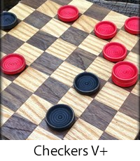 Checkers V+ game for Window 10 PCs